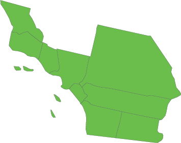 Southern California CFC zone map